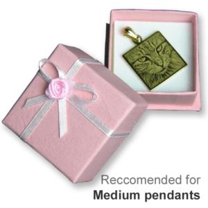 Small/Medium Pink Rosette Gift Box