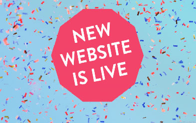 New Website is Live