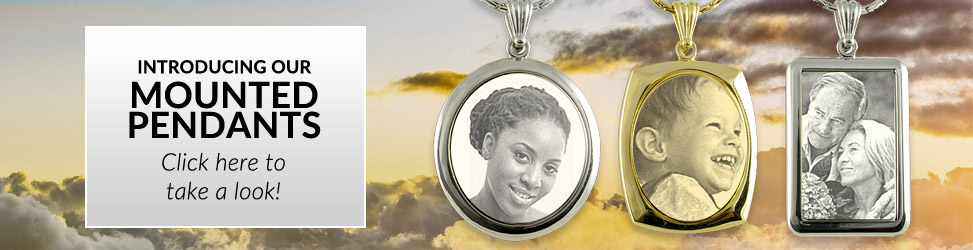 Mounted - Photo Pendants