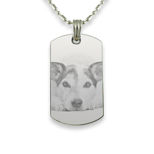 Small Portrait Dog Keepsake