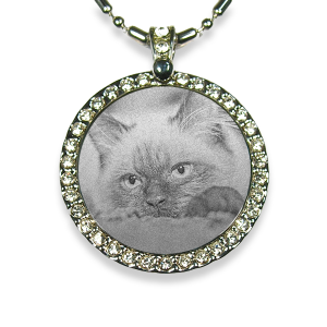 Photo Pendant Keepsake for Cat Lover