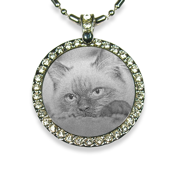 Photo Pendant Keepsake for Cat Lover