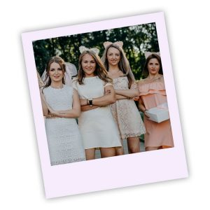Brides Maids Polaroid