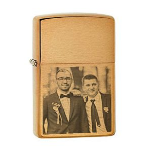 Gold Lighter – Groom and Best Man