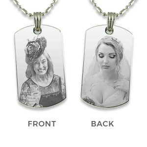 Parents of the Bride - Photo Pendant