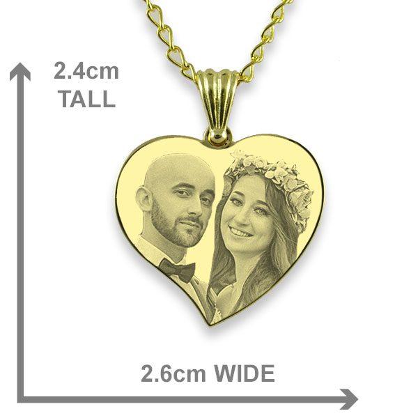 Medium Curved Heart - Wedding Keepsake