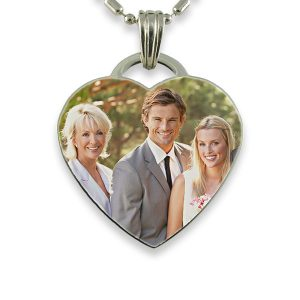 Parents of the Groom Photo Pendant