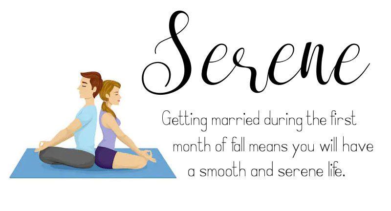 September Wedding Anniversary Engagement Meditation Serene