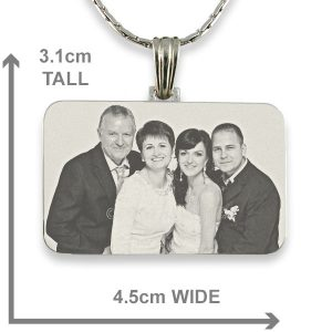 Family Wedding - Photo Pendant