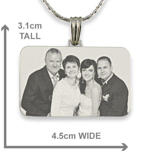 Family Wedding - Photo Pendant
