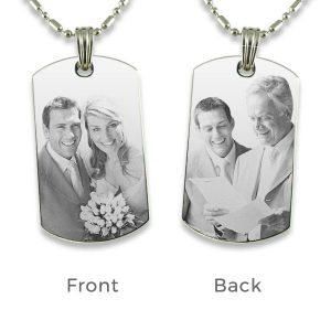 Wedding Photo Pendant