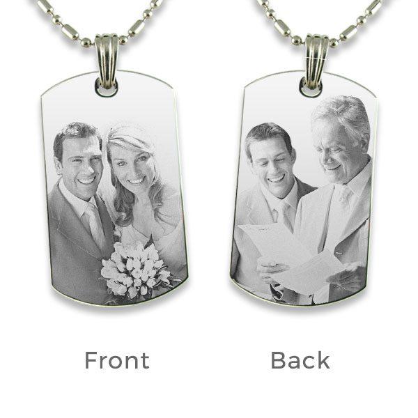 Wedding Photo Pendant