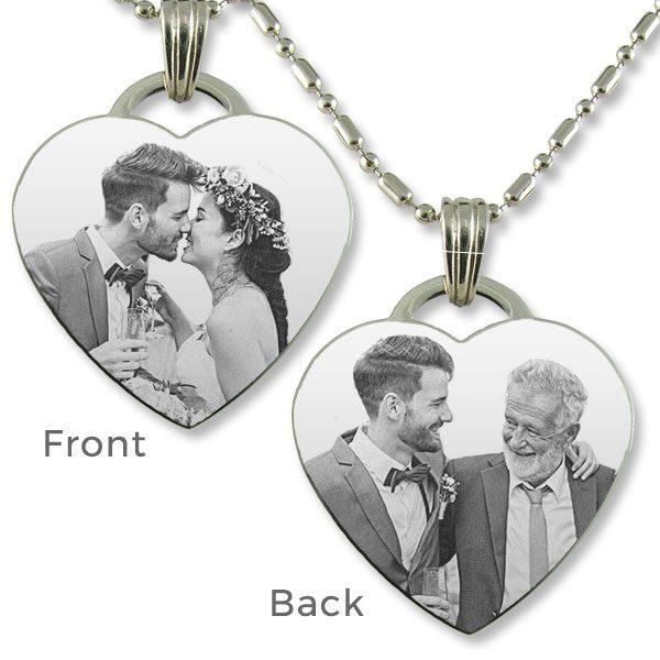 Father and Groom Wedding Pendant