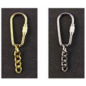 Keyring with Carabiner Fastening