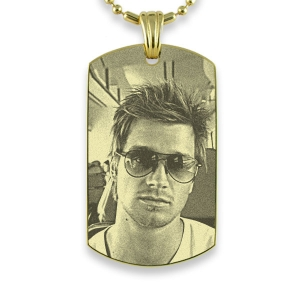 ID Tag Keepsake Photo Portrait
