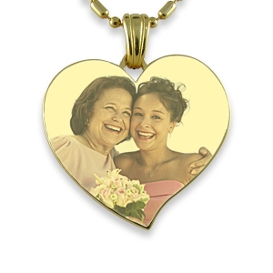 Heart shaped photo keepsake