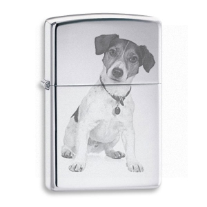 Chrome Photo Engraved Lighter