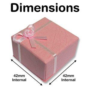 Pink Rosette Gift Box